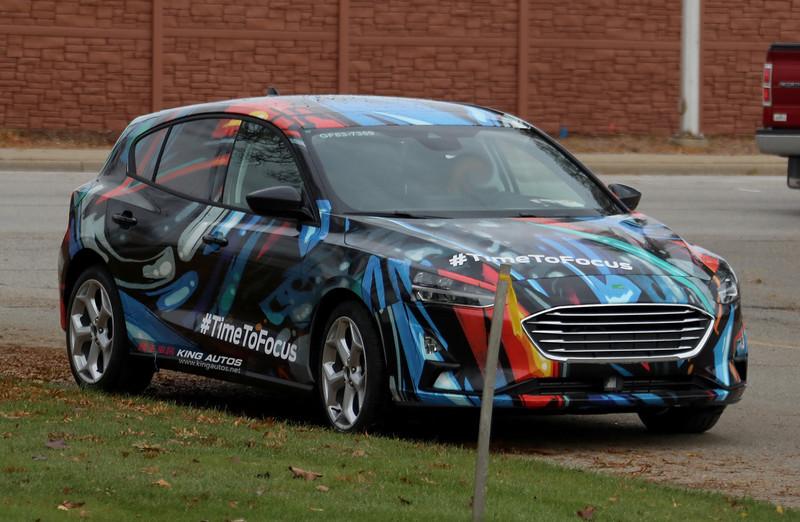 LED頭燈上身整體更修長 第四代《Ford Focus》低偽裝測試車首次曝光