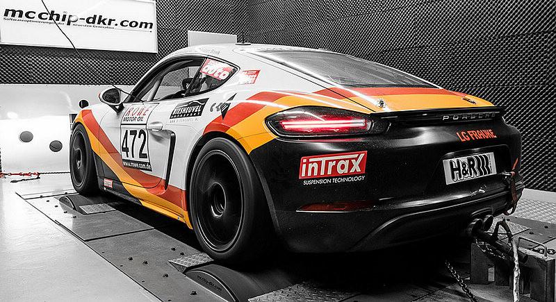《Porsche 718 Boxster / Cayman》再強化 McChip-DKR推出Stage.1動力升級方案