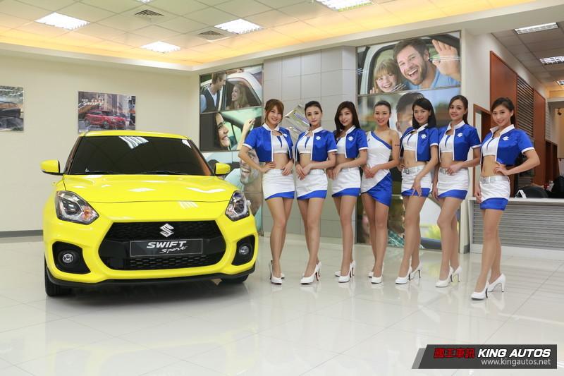《Swift Sport》確定明年導入 《Suzuki》公佈年底台北車展參展陣容