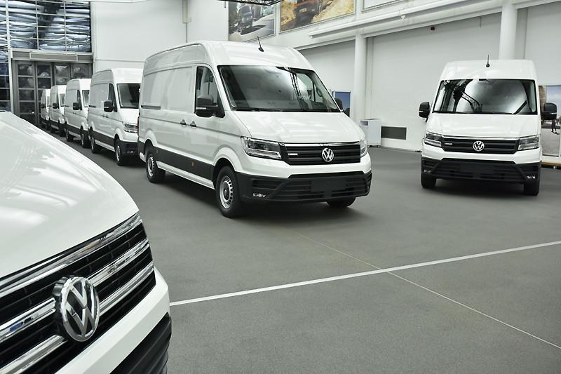《VWCV e-Crafter》交付予首發客戶實測 新車預計2018下半年正式推出
