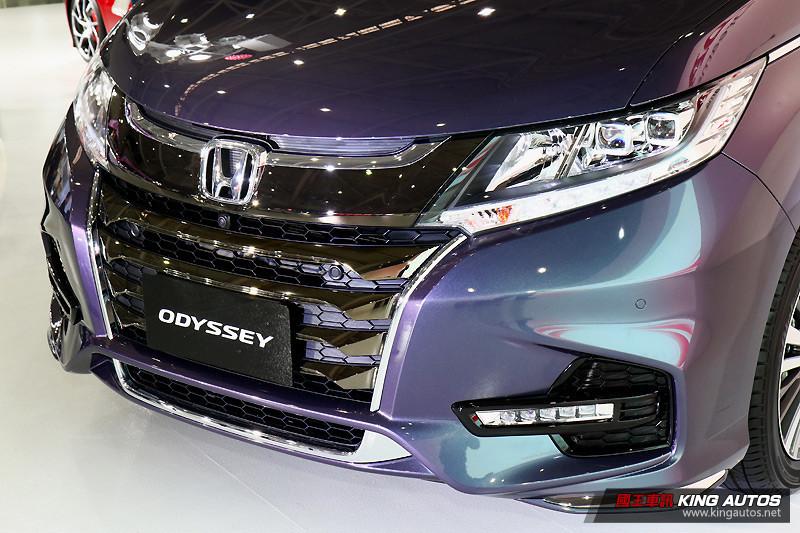 2018台北車展:《Honda》以小改《Odyssey》領軍多款二輪新作齊發
