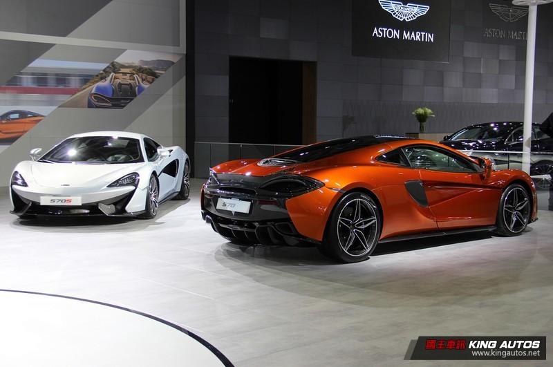 2018台北車展:《Aston Martin Vantage/Bentley Continental GT/McLaren》展演英