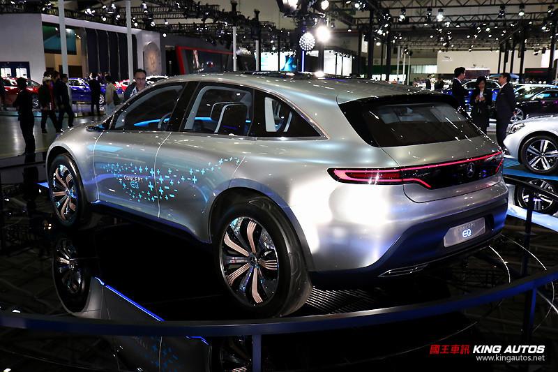 品牌邁入智慧電能時代的先驅 《Mercedes-Benz Concept EQ》車展現場體驗