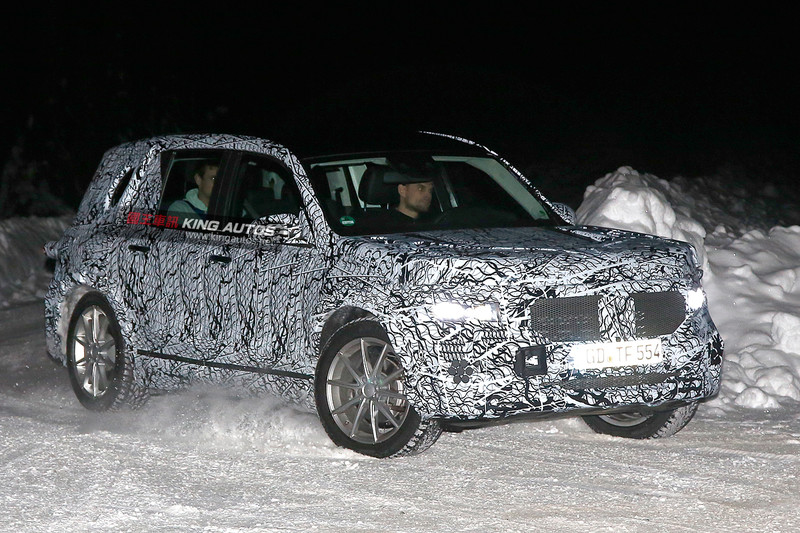 瞄準《X1》《Q3》與《XC40》 《Mercedes-Benz GLB》推估2018年問世