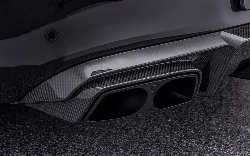 碳纖點綴更顯勁 Brabus操刀《Mercedes-AMG C 63 S Coupe》更帥氣