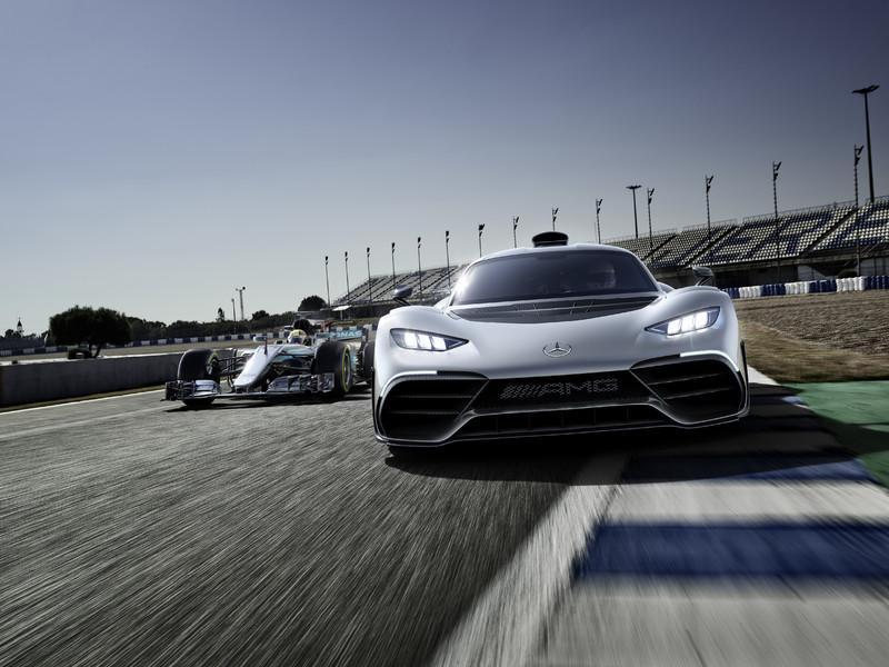 675公斤下壓力 《Mercedes-AMG》釋出更多《Project One》性能細節