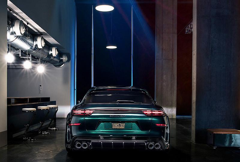 極致奢華性能跑旅 TechArt打造《Porsche Panamera Sport Turismo》GrandGT