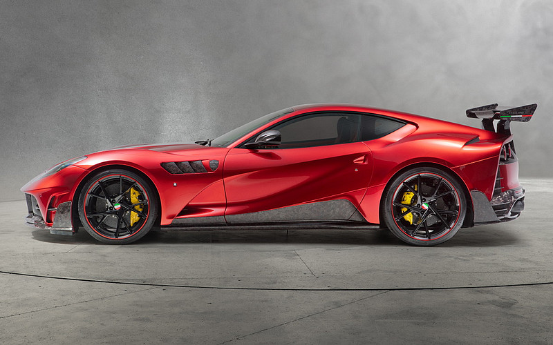 賦予《Ferrari 812 Superfast》激進與奢華  Mansory Stallone碳纖上身猛發830匹強大動力