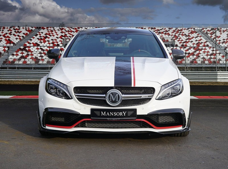 Mansory又出招 650匹的《Mercedes-AMG C63 Coupe》狂暴亮相