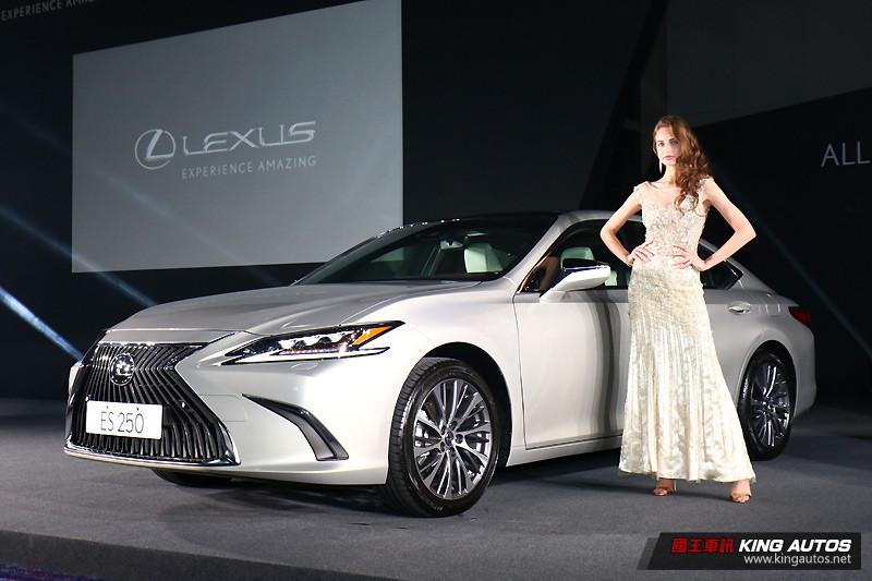 新世代《Lexus ES》167萬元起即刻登場 搶攻國內中大型豪華房車市場