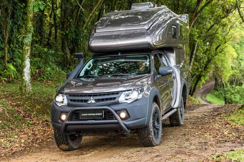 《Mitsubishi L200 Triton Sport Duaron》露營新概念巴西全能登場