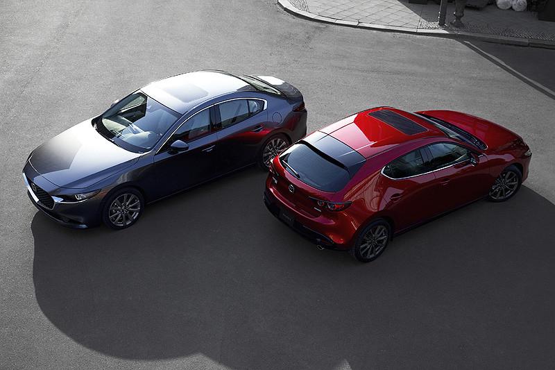 新型《Mazda3》採用全球首創冷沖壓1,310 MPa的高強度鋼材