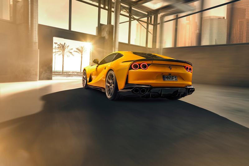 許你一套威猛空力 《Novitec》發表《Ferrari 812 Superfast》碳纖空力套件