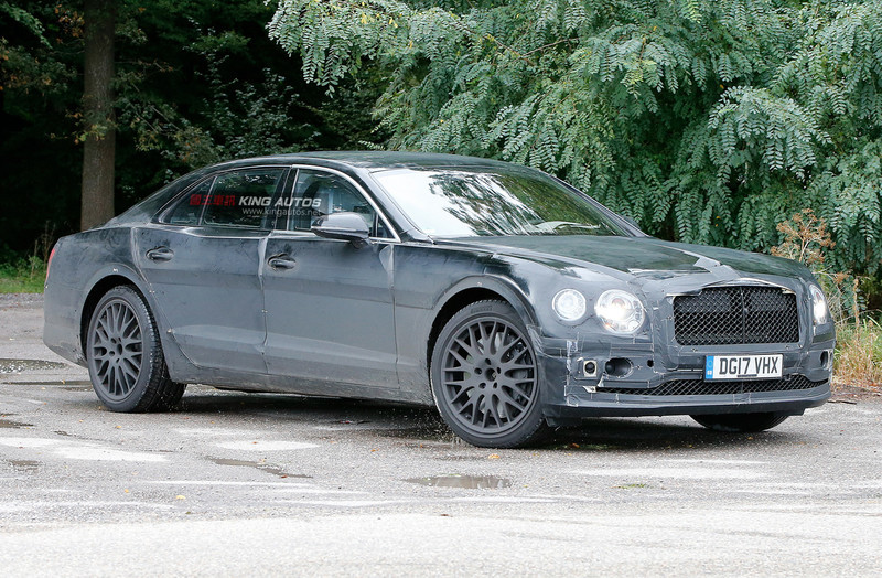 新世代《Bentley Flying Spur》輪廓首現 確認2019年底前正式亮相