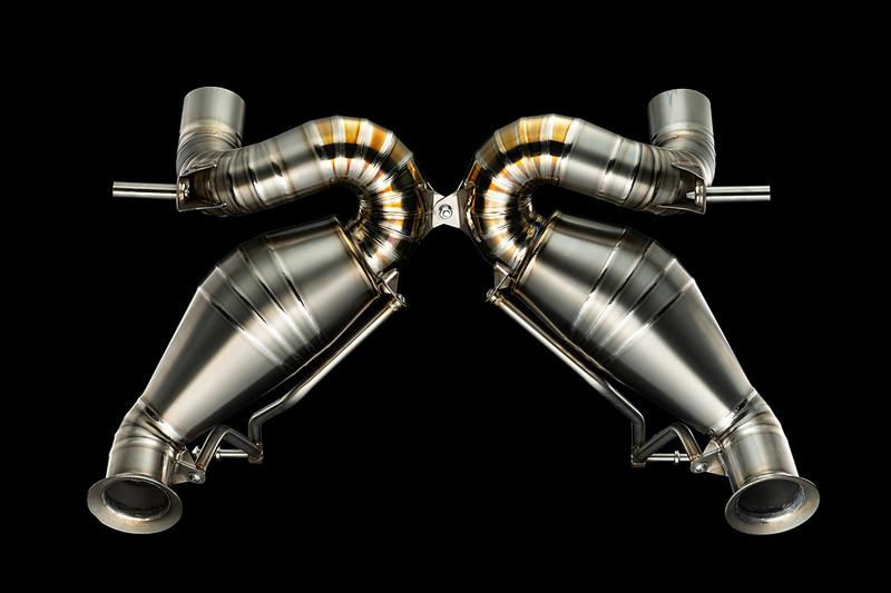 《VB》推《Lamborghini Aventador SVJ》專屬排氣套件 鈦合金打造車重再降1%