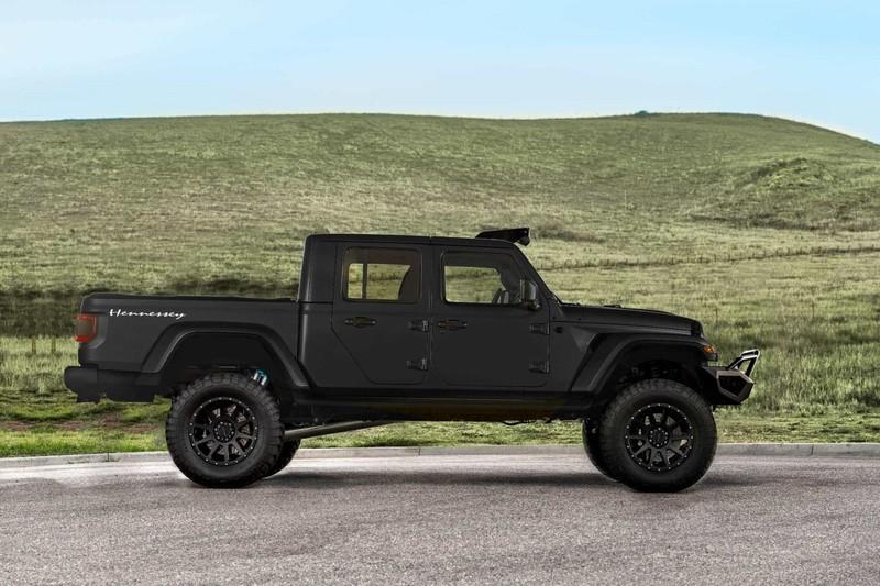 超級越野貨卡 《Hennessey》改造千匹馬力《Jeep Gladiator》
