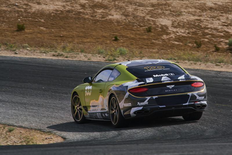 目標Pikes Peak最速量產紀錄 《Bentley》將派《Continental GT》出戰
