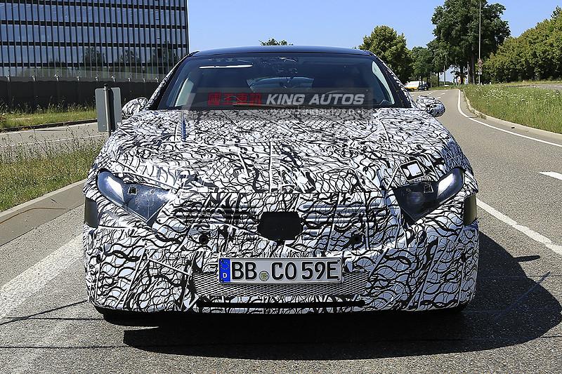 電力攻勢未停歇 《Mercedes-Benz EQS》電動房車原型首曝光