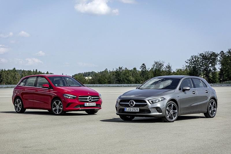 電氣化陣容再擴大 《Mercedes A 250 e/B 250 e》插電油電車型同步登場