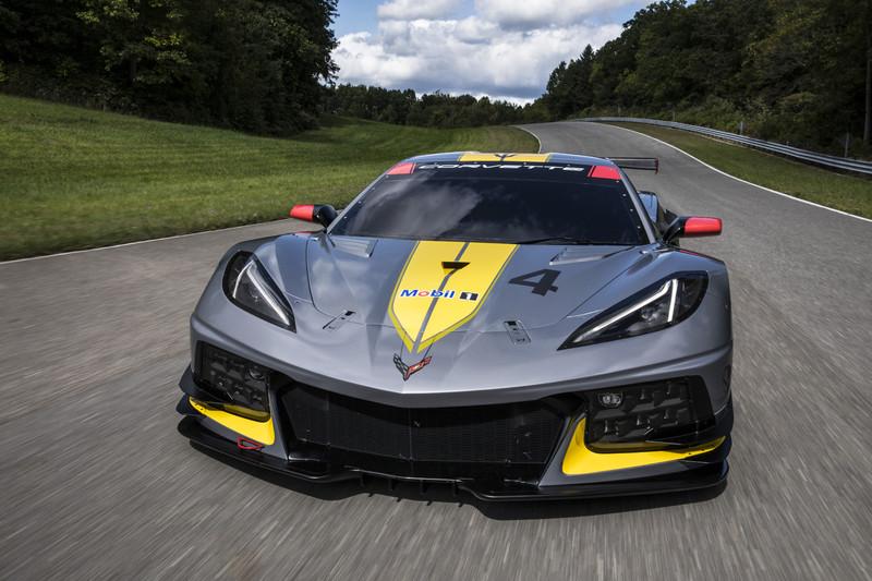 中置引擎新戰力 《Corvette C8.R》賽車驚喜亮相