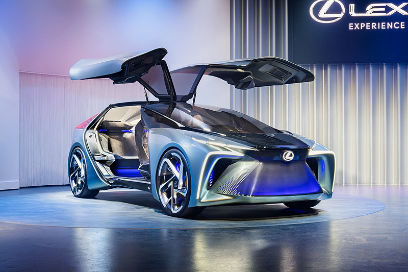 《Lexus》擘劃純電未來 《UX 300e / LF-30 Electrified》登陸歐洲首演