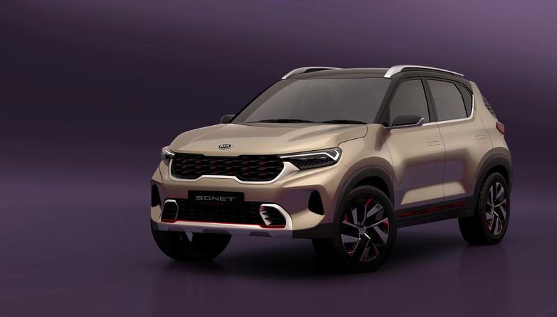 《Kia Sonet Concept》亮麗現身 預演品牌入門SUV新作