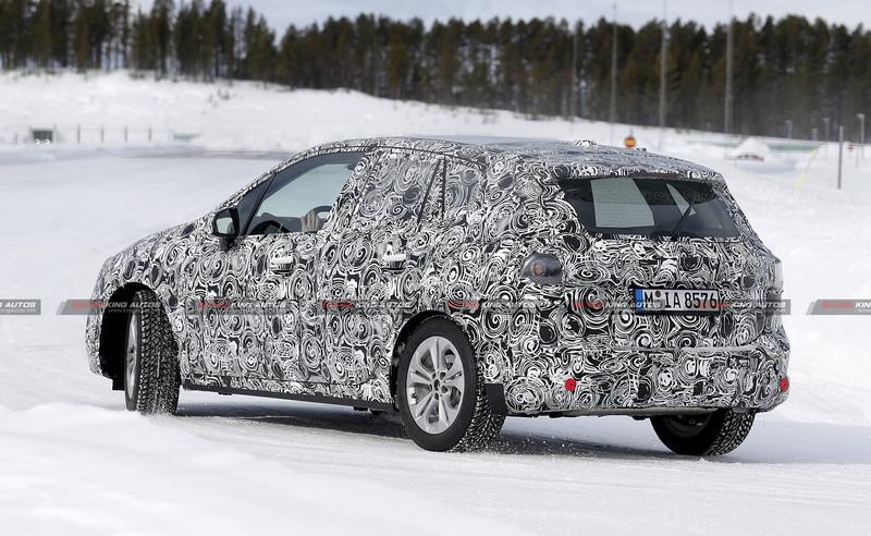 大改款《BMW 2 Series Active Tourer》二度現身 尺碼變化不大除了大鼻孔