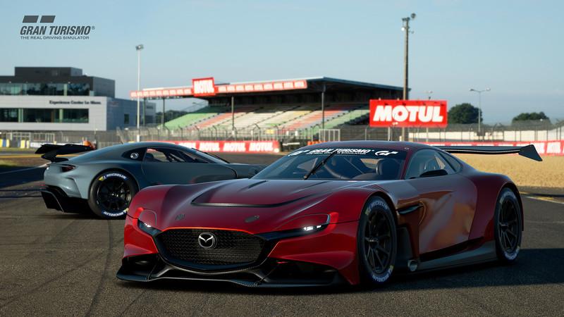 轉子跑車戰賽道?原來是《Mazda RX-Vision GT3 Concept》開放GT Sport玩家下載
