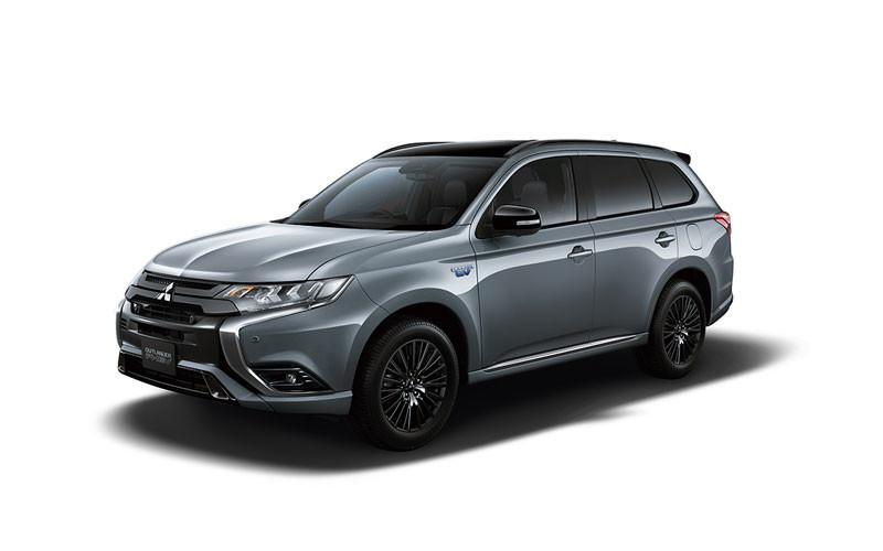 日本新登場《Mitsubishi Outlander PHEV Black Edition》插電人氣休旅也有型