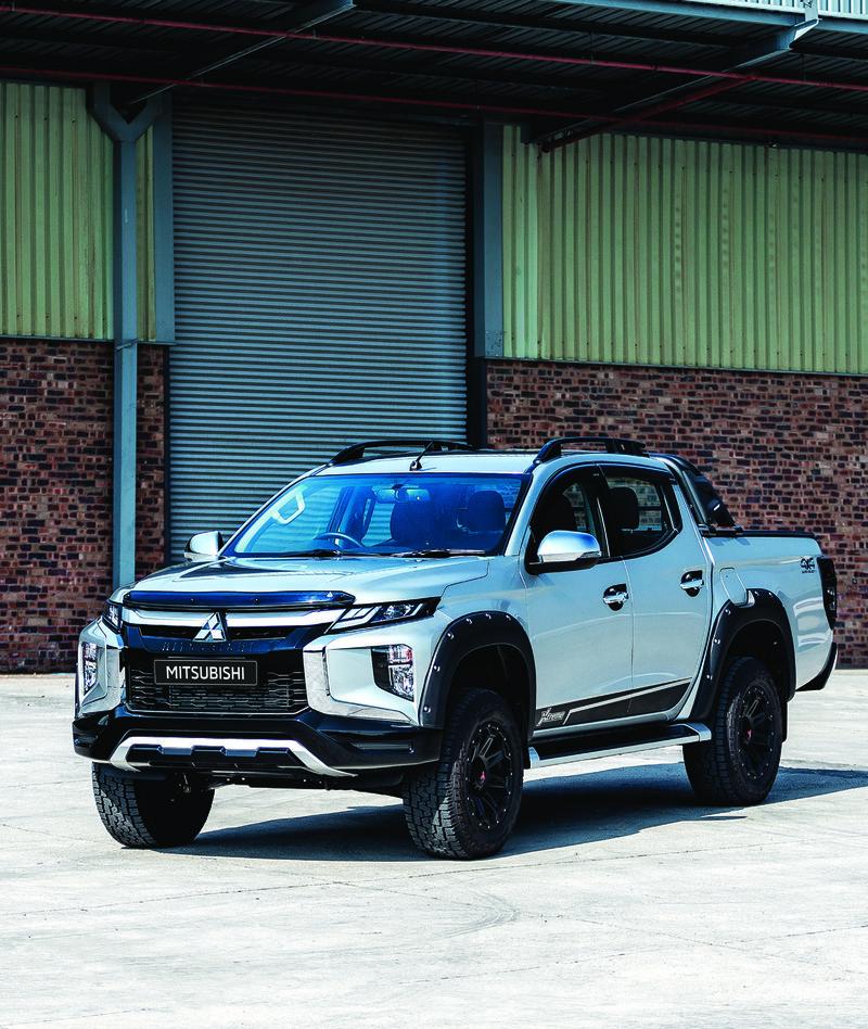 超霸氣《Mitsubishi Triton Xtreme》限量車系旗艦南非勁裝登場