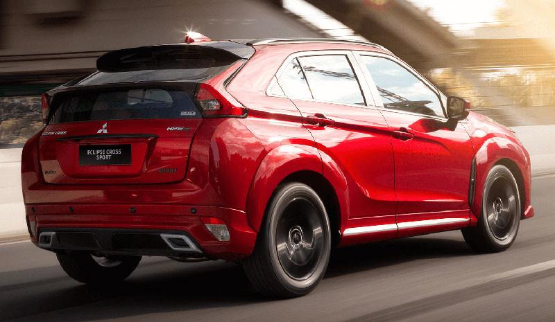 超帥空力勁裝《Mitsubishi Eclipse Cross Sport》巴西限量日蝕特仕有殺氣