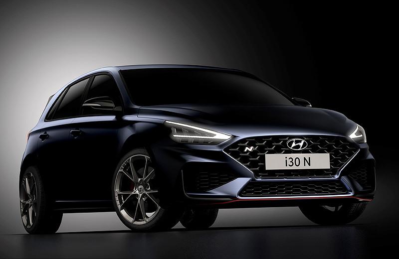 小改款《Hyundai i30 N》帥氣現身 有了8速雙離合後你期待它成為本國事務嗎?