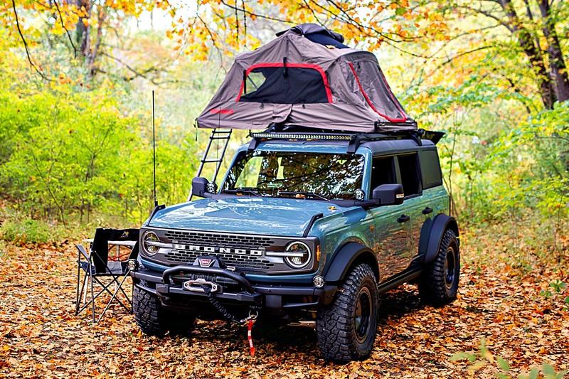 《Ford Bronco OG Concept》越野探險結合露營概念!配件展示概念車!