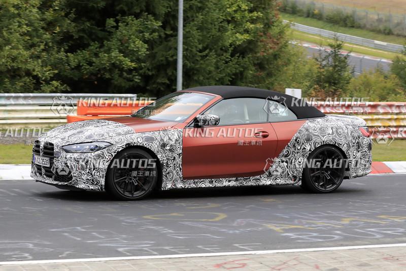 上空更火辣《BMW M4 Convertible》這回偽裝連鼻孔也不遮了