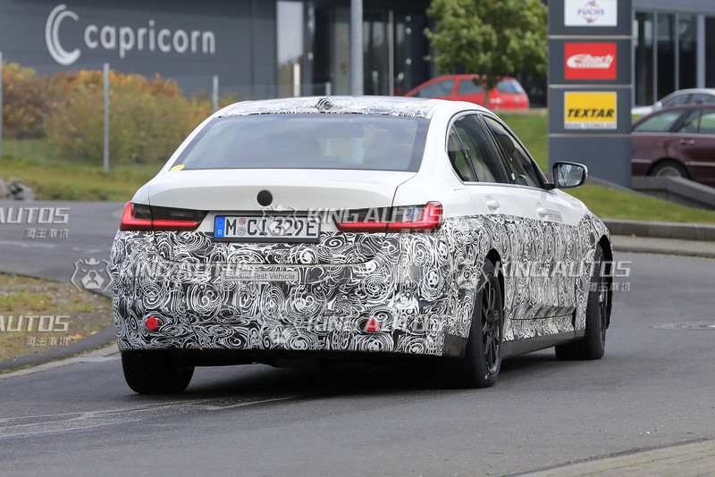 電動版《BMW 3 Series》瞄準《Model 3》偽裝上路 但你真的要叫《i3》嗎?