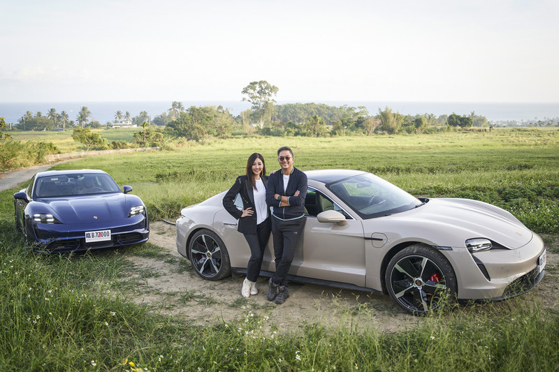 伍佰、王偉忠主持全新公路實境秀|看明星們與《Porsche Taycan》如何激盪出完美的火花?