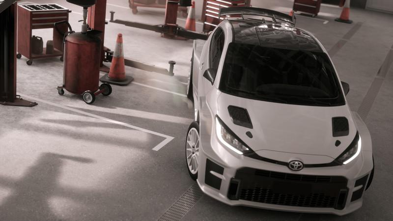 不只很暴力《Toyota GR Yaris AP4》小鴨還準備上拉力賽場撒野