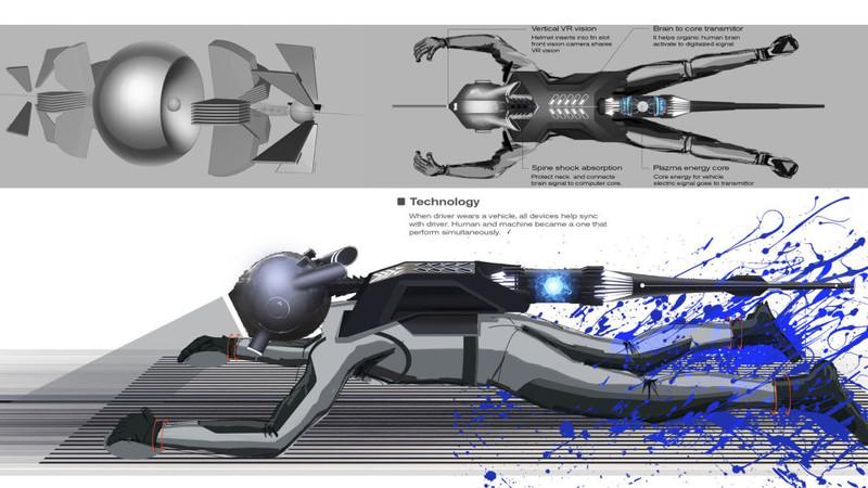 你也可以當鋼鐵人!可穿戴式的電動跑車《Nissan GT-R (X) 2050》概念車曝光