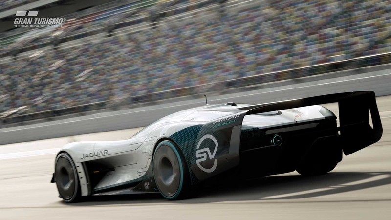 Gran Turismo賽車從PS5跑出來了 《Jaguar Vision Gran Turismo SV》1877匹虐爆對手