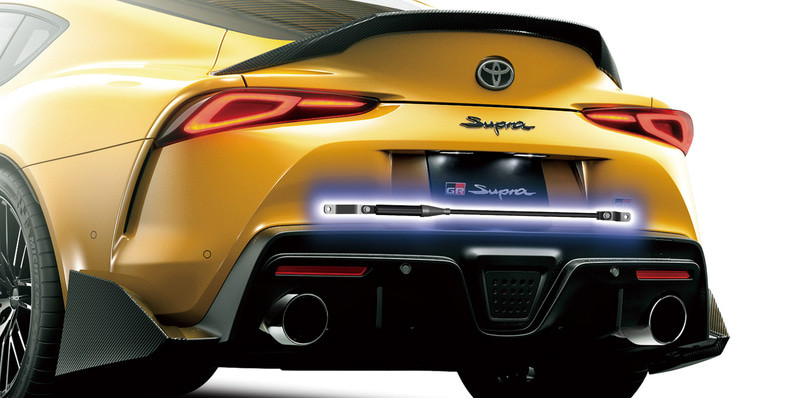 好料不改嗎?TRD為《Toyota GR Supra》推出拉桿套件與運動化排氣尾段