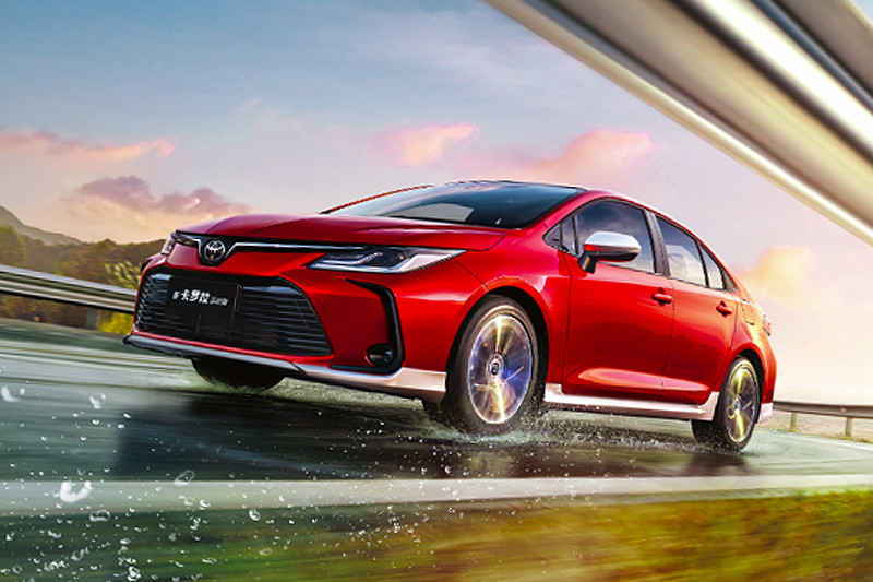 續搭1.2渦輪動力 《Toyota Corolla》中國神A運動版同步變裝
