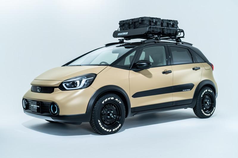 《Fit》越野風上身《N-Van》變身露營小餐車 《Honda》公布東京改裝展參展作品