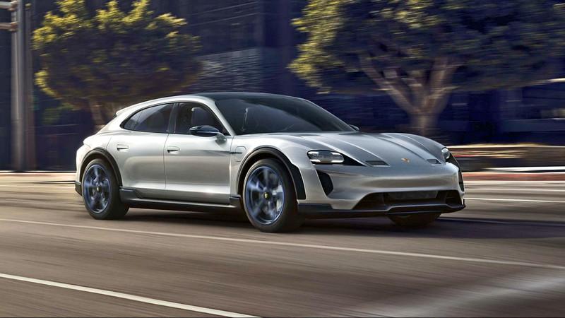比四門更帥《Porsche Taycan Cross Turismo》即將發表!測試車乾脆不遮 直接曝光做宣傳