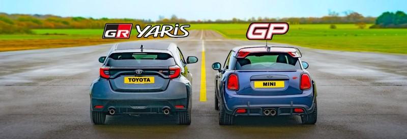 我很小但我很會跑!《Toyota GR Yaris》V.S.《Mini JCW GP》 誰會是最強小鋼炮?