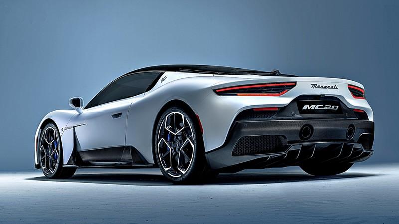 獲選2021年度最美超跑!《Maserati MC20》成為全球汽車節焦點