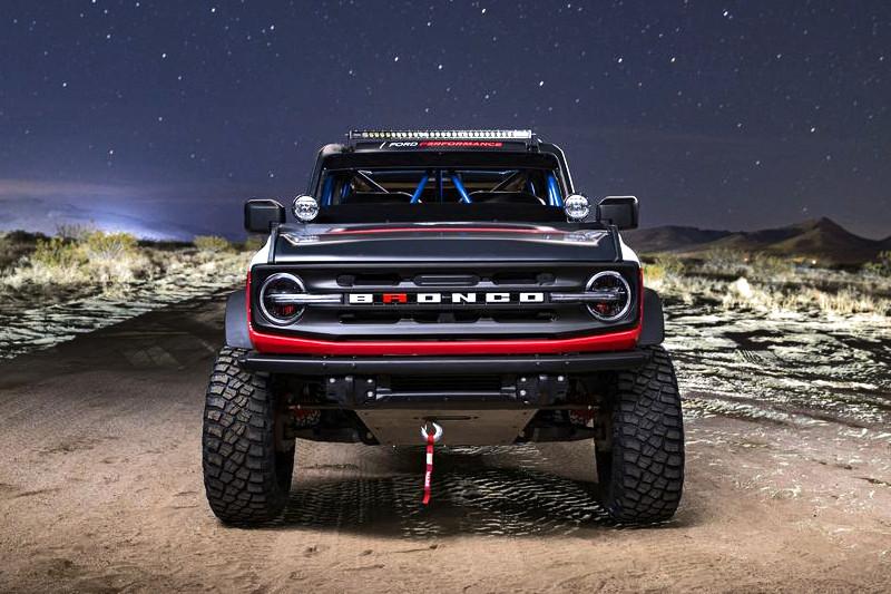 帥到上戰場《Bronco 4600》越野賽車驚艷現身|Ford純比賽or市售化?