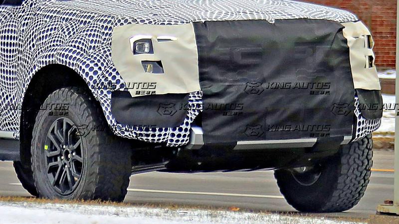 Ranger越野性能版現身?!下一代《Ford Ranger Raptor》首度捕獲