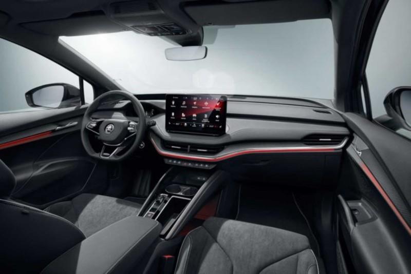 更運動化的純電休旅來了!《Škoda Enyaq Sportline iV》續航力破500km 提供3種動力編成