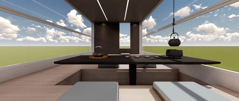 你看過有電梯的車嗎!上汽大通推超豪華別墅版《V90 Villa Edition》廂型車 電梯廚房陽光閣樓通通有