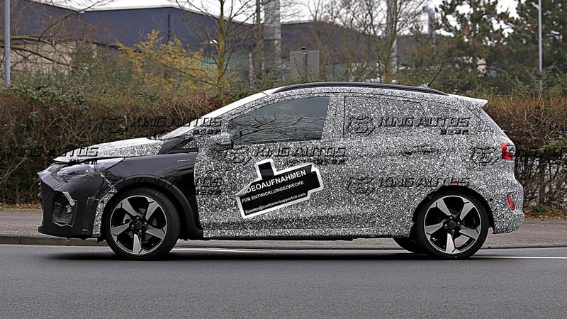 以Active跨界版偽裝現身?!《Ford Fiesta》小改款預計2022亮相